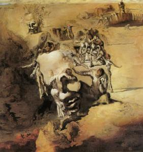 """The Great Paranoia"" by Salvador Dali"