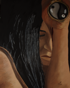 Affliction Oil on canvas 22x28 in. Emilie Errié